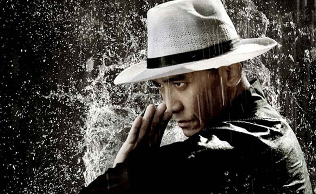 Tony Leung as kung fu virtuoso Ip Man in The Grandmaster (2013)